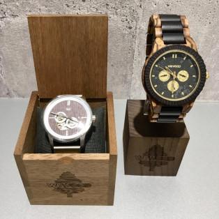 珍しい木の時計【wewood】をご紹介!
