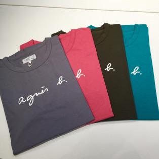 ロゴTシャツ 新色入荷致しました!