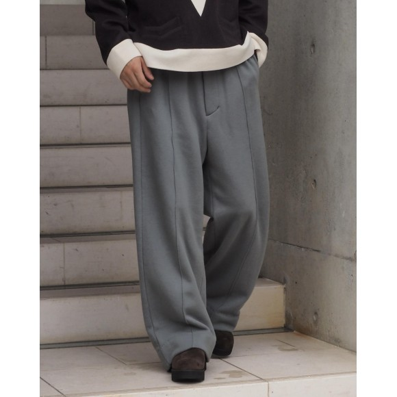 【YOKE】 WIDE LEG LOUNGE PANTS