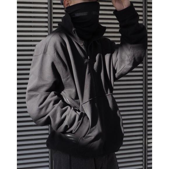 【AFFIX】 AUDIAL ZIP SWEAT SHIRT