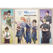 『Fate/Grand Order -神聖円卓領域キャメロット-』 の コラボカフェ開催決定‼