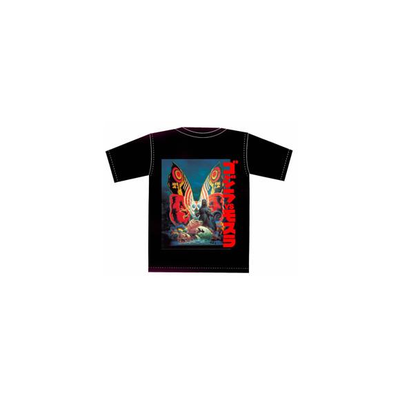生賴範義「ゴジラVSモスラ」Tシャツ /限定30枚(4,536円)