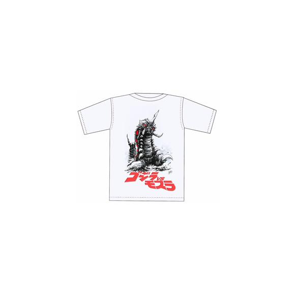 西川伸司「バトラ幼虫」Tシャツ/限定30枚(4,536円)