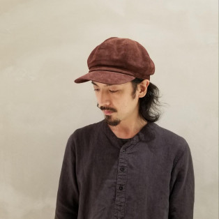 8枚ハギのキャスケット<ガジー>シリーズ
