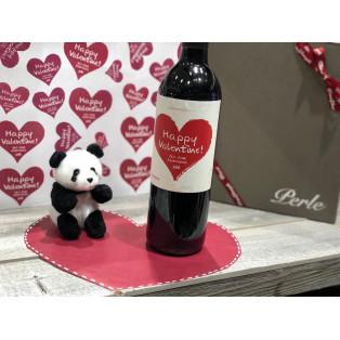 ハッピーバレンタイン!♡ 限定ハートラベルワインご予約承り中です