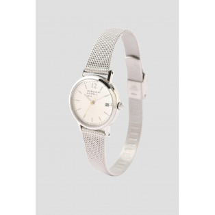 MESH BAND DATE WATCH