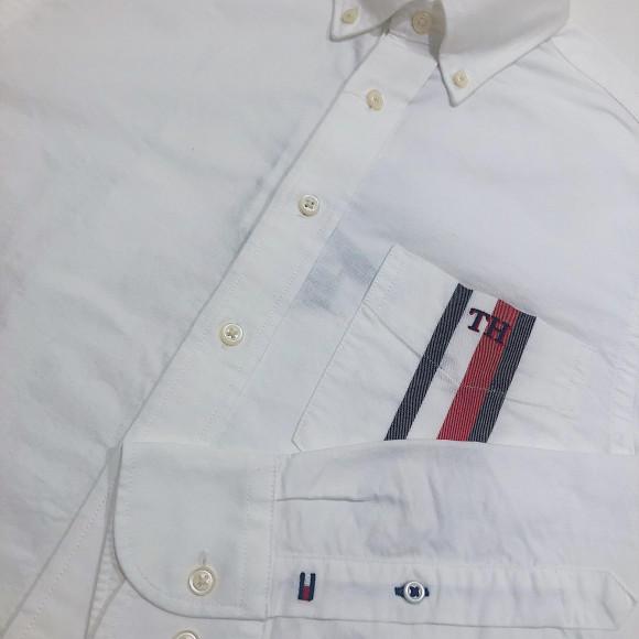 【メンズ】胸ポケットシャツ