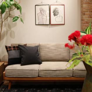 お気に入りのソファで