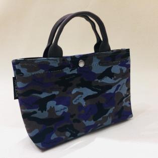 【犬印鞄】犬迷彩柄のバッグインバッグ