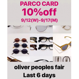 PARCO CARD 10%off