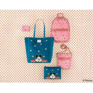 ミッキーマウス90周年を記念したコラボレーションコレクションが発売中!!