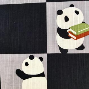 パンダの風呂敷 登場!