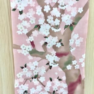 濱文様の桜柄