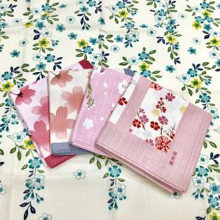 桜柄の小布