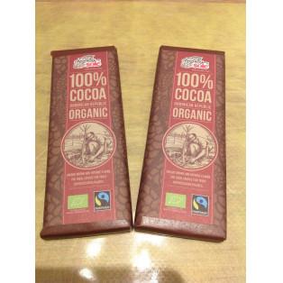100%オーガニックカカオのチョコレート