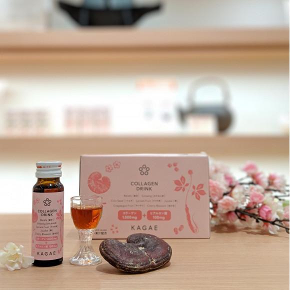 桜の花エキス配合 カガエのコラーゲンドリンク
