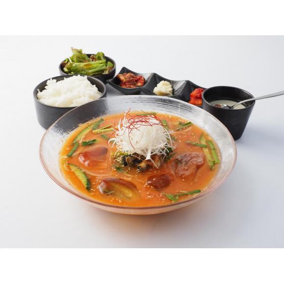 パルコヤ 九州メニューフェア 「韓国風冷汁御膳」