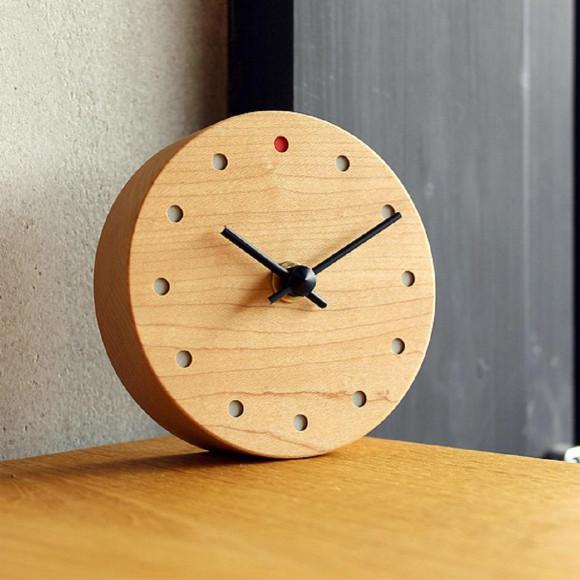 【新生活を迎える方へ】 時とともに風合い増す時計  Wall Clock Mini
