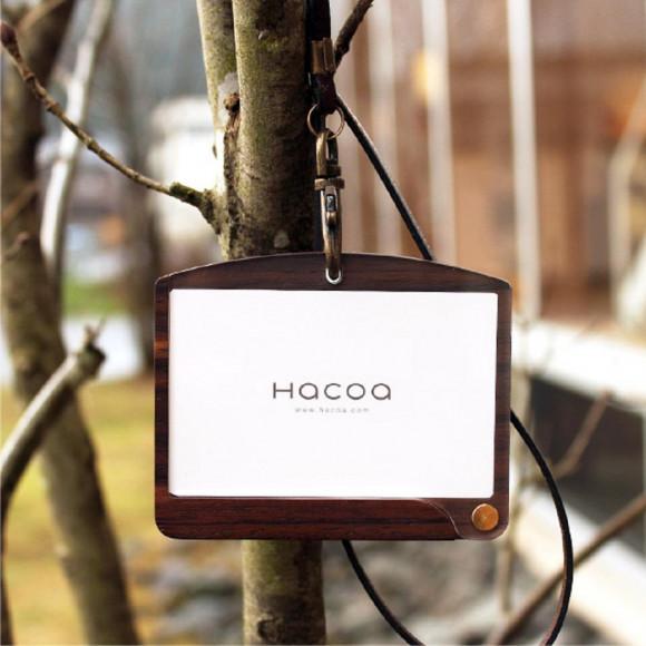 【新社会人の方へ】 おしゃれな木製カードホルダー   ID-CardCase