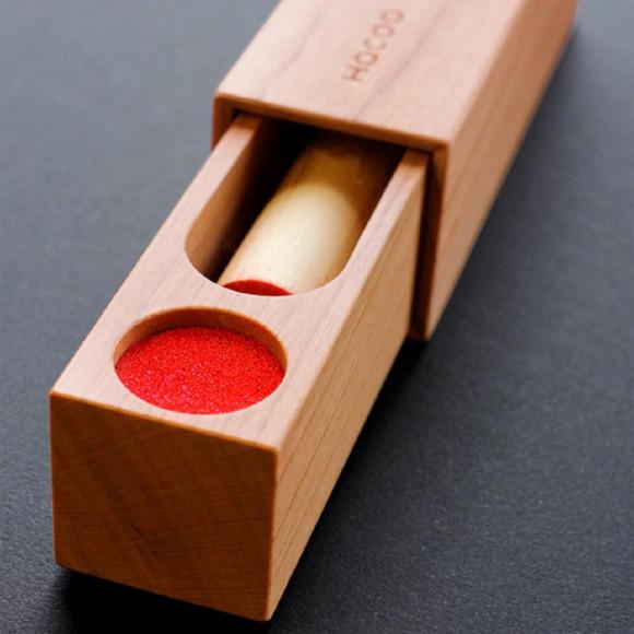 ちょっと大人な木製印鑑ケース【SealCase】
