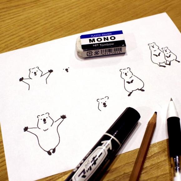 自分の描いた絵を刻印して世界にひとつだけのアイテムを作ろう!