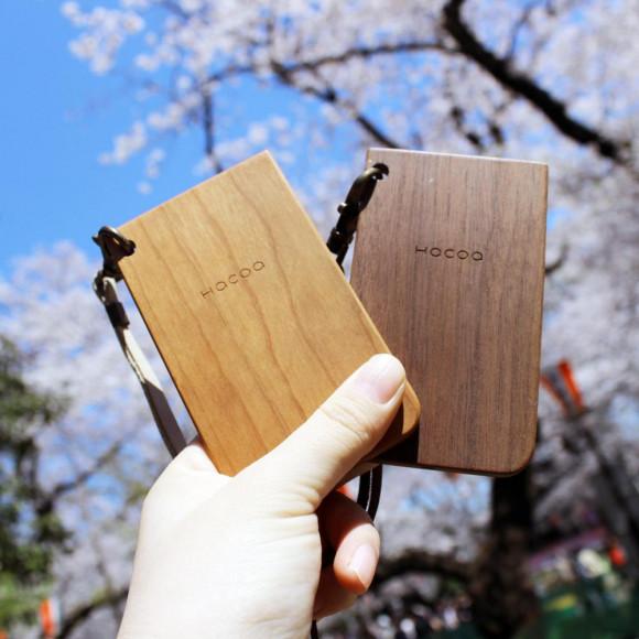 【春本番】 木のパスケースを持っておでかけしよう!