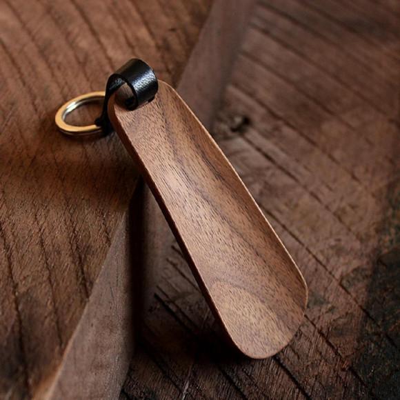 【大人の嗜み】木製の携帯靴べら