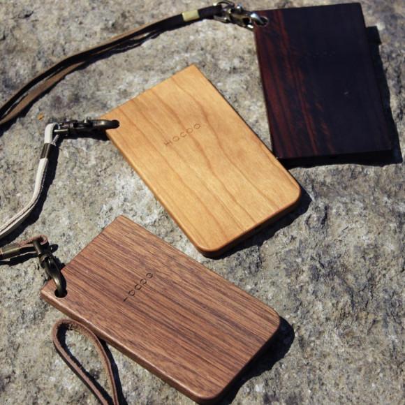 【母の日】 木でタッチするICパスケース