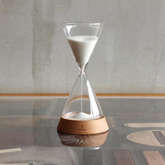 贅沢な時間に癒される砂時計