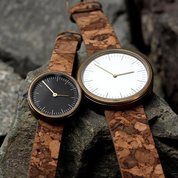 コルクベルトの腕時計「CONNIE SimpleWatch」