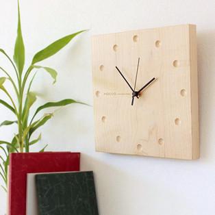時と共に風合いを増す時計【Wall Clock Round / Square】