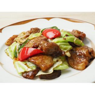 九州メニューフェア「鹿児島産黒豚の回鍋肉」