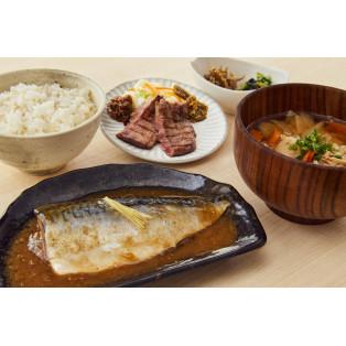 ニッポン全国メニュー「宮城芋煮と金華サバ味噌煮定食」