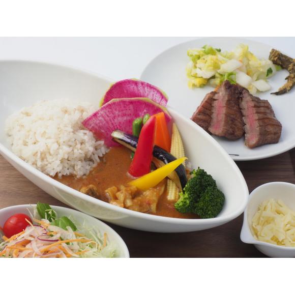 北海道メニューフェア 北海道産牛たん焼とスープカレー