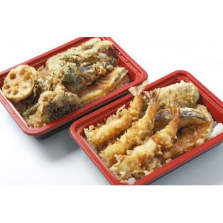 お花見メニューフェア「野菜天丼弁当 / 海老天丼弁当」