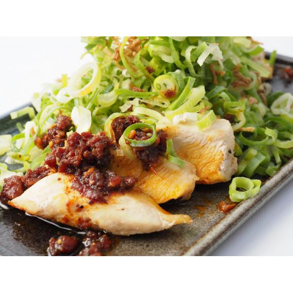 パルコヤ 九州メニューフェア 「九州産みつせどりのどっさりネギ焼き鶏ラー油かけ」