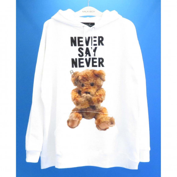 NEVER SAY NEVER HOODIE