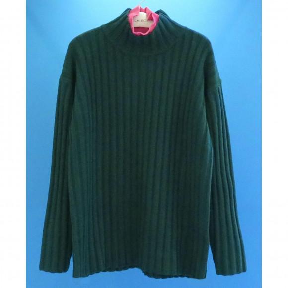 ダブルネックセーター