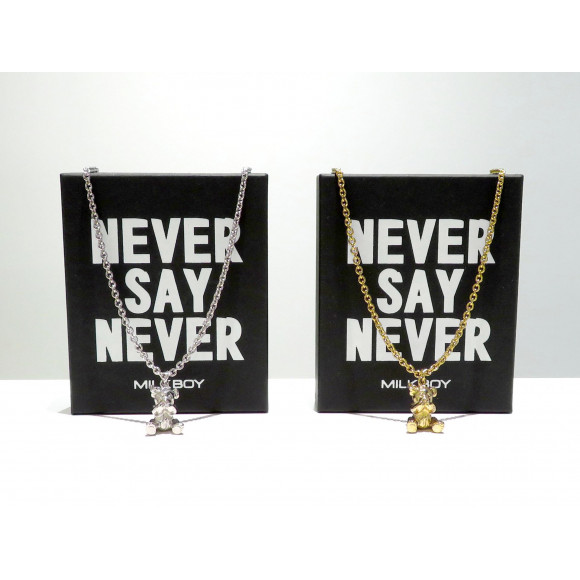 NEVER BEAR NECKLACE