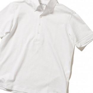 MEN'S BIGI  【COOL MAX(クールマックス)】使用  高機能ボタンダウンポロシャツ/TAILORED WEARライン