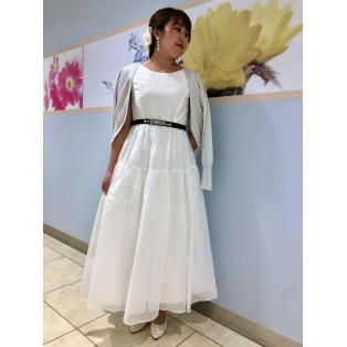 ホワイトドレス♪