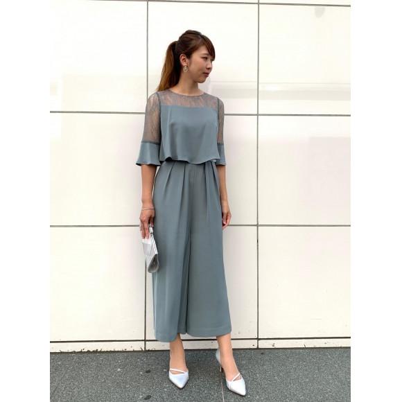 人気☆パンツドレス
