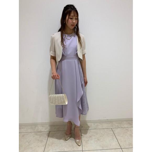 大人可愛いAラインドレス♡