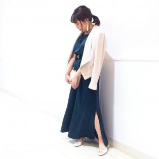 ラグジュアリーロングドレス