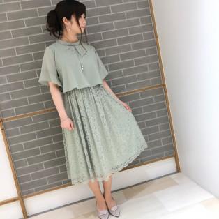 新作☆2wayレースドレス