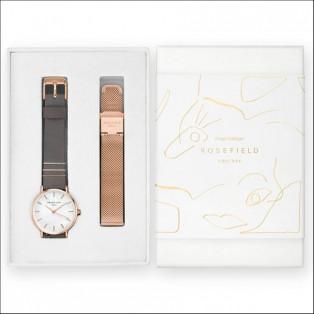 ROSEFIELD ローズフィールド Holiday Box ベルト付ギフトボックス 【国内正規品】 腕時計 レディース WEGTR-X184
