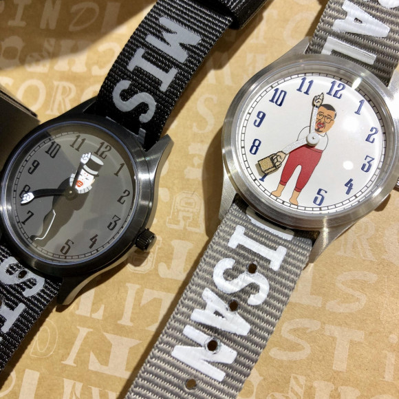 くっきーキャラウォッチ  バランスおじさん 150本限定生産 ワンサイズ 腕時計 ホワイト COOKIE-WT-BALANCE