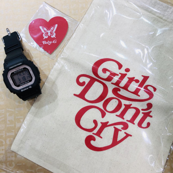 【TiCTAC札幌パルコ店】Girls Don't Cry × BABY-G ⌚︎