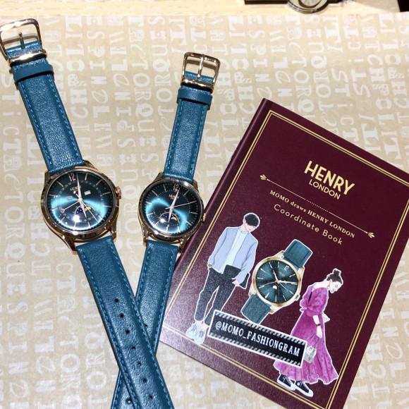 HENRY LONDON ヘンリー ロンドン STRATFORD ストラトフォード JAPAN Limited 日本限定 メンズ 【国内正規品】 腕時計 HL39-LS-0380