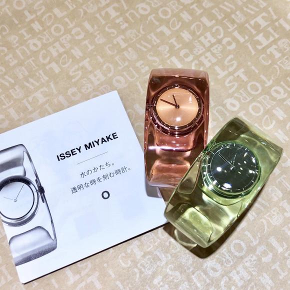 ISSEY MIYAKE  イッセイ ミヤケ 【O】 オー 吉岡徳仁氏 デザイン 腕時計 サクラ SILAW003